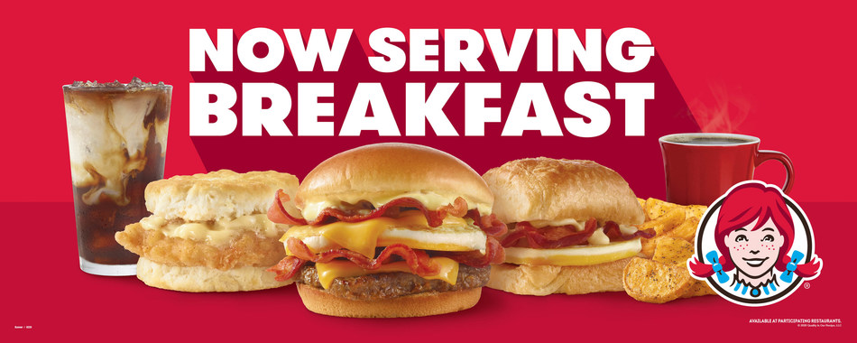 Wendy's launches America's soon to be favorite breakfast with a free Honey Butter Chicken Biscuit offer via the Wendy's mobile app.