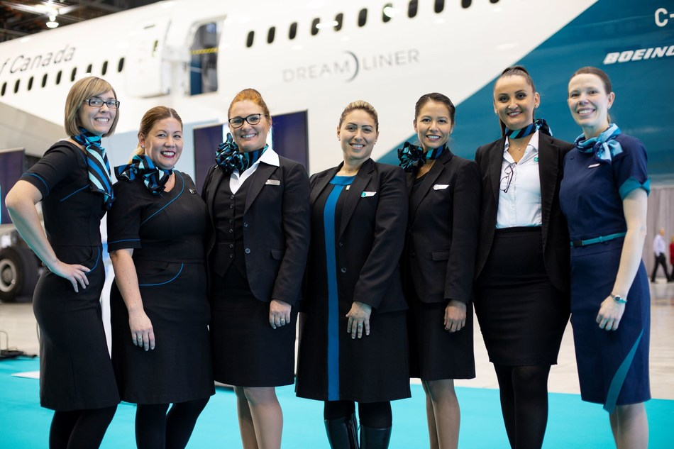 The airline's latest video WestJet Women in Aviation: Committed to Change, emphasizes the need to increase the numbers of women who have careers in aviation. (CNW Group/WESTJET, an Alberta Partnership)