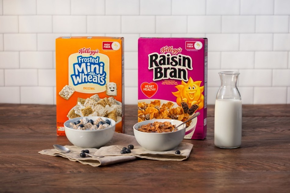 To Kick Off National Breakfast Week, Kellogg's® is Giving Away Delicious High-Fiber Cereal