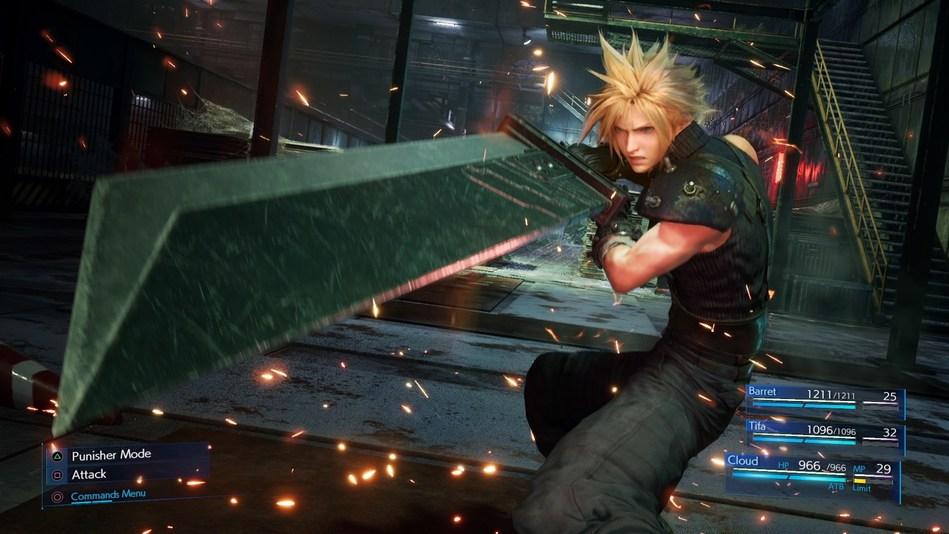Final Fantasy7 Remake (PRNewsfoto/Square Enix)