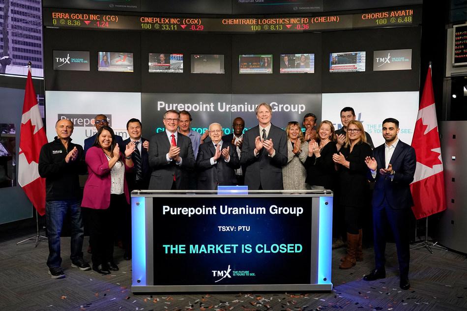 Purepoint Uranium Group Inc. Closes the Market (CNW Group/TMX Group Limited)