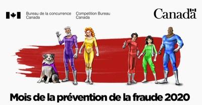 Luttez contre la fraude en mars! Le Bureau de la concurrence lance sa campagne annuelle du Mois de la prévention de la fraude (Groupe CNW/Bureau de la concurrence)