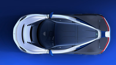 Automobili Pininfarina_Battista Anniverario Bird's Eye view