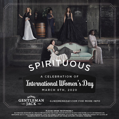 To commemorate International Women's Day 2020, Jack Daniel's GENTLEMAN JACK is celebrating women's achievements and raising awareness on gender equality by bringing back SPIRITUOUS, an event series honoring women leading in entrepreneurship, community change, innovation and cultural advocacy. The 2020 iteration of the series will hit 19 cities across the nation, with all events taking place on International Women's Day.