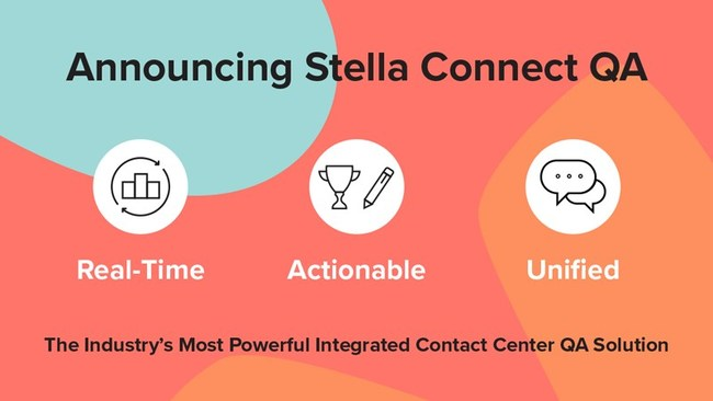 Announcing Stella Connect QA: The industry's most powerful integrated contact center QA solution