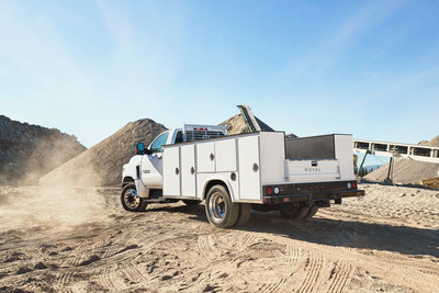 11' severe duty Royal Truck Body