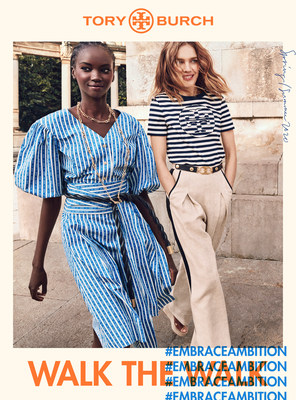 "Tory Burch Spring 2020 ""Walk the Walk"" Campaign (photo credit: Mikael Jansson)"