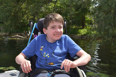 Easter Seals Ontario kicks off campaign to promote accessibility and inclusion for kids with physical disabilities. (CNW Group/Easter Seals Ontario)