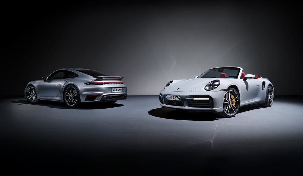 The 2021 Porsche 911 Turbo S Coupe And Cabriolet