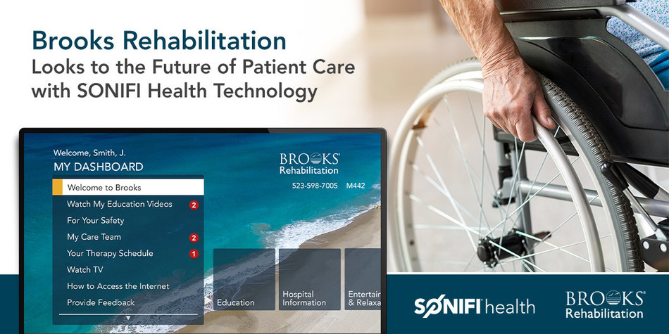 Brooks Rehabilitation Looks to the Future of Patient Care with SONIFI Health Technology