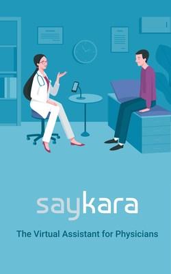 Saykara conversational AI healthcare voice assistant, fully autonomous and ambient