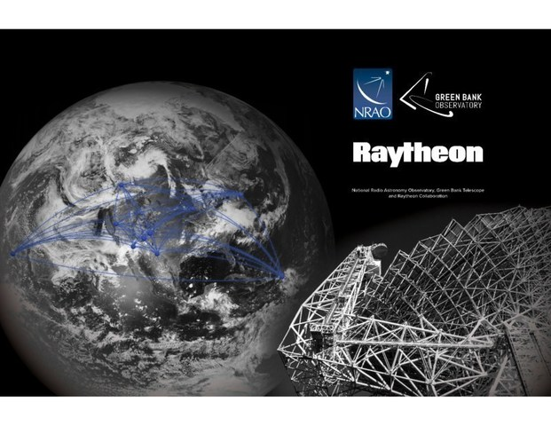 Raytheon and the National Science Foundation radio astronomy facilities to detect dark asteroids in space