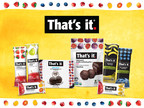 """T-street Capital Completes Add-On Investment In Expanding Healthy Snack Company """"That's It Nutrition"""""""