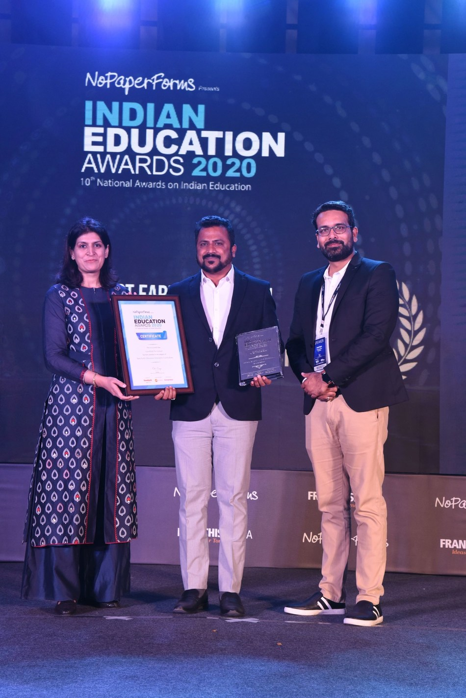 EuroKids Pre-School wins big at the 10th Annual Indian Education Awards 2020