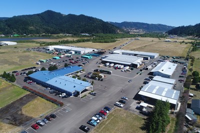 400.000 square feet manufacturing space in the Orenco factories, Sutherlin, Oregon, USA