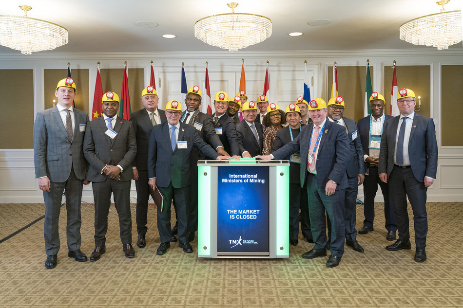 International Ministers of Mining Close the Market (CNW Group/TMX Group Limited)