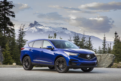 Record truck deliveries and strong car sales boost American Honda to February records and 2020 gains. The Acura RDX helped push Acura trucks to a new February mark, while Honda trucks also set a February best, with record sales of HR-V and Passport. Honda Civic gained 11.5 percent for the month. (PRNewsfoto/American Honda Motor Co., Inc.)