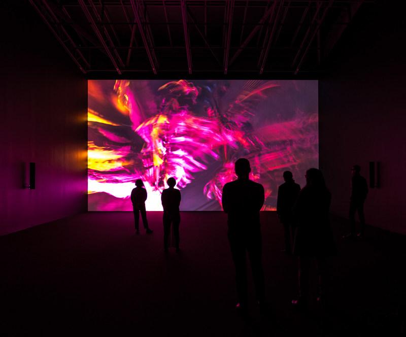 Cyprien Gaillard, Nightlife, (2015) - Installation view, Gladstone Gallery, New York. Collection Musée d'art contemporain de Montréal. Photo: Courtesy of the artist and the Gladstone Gallery, New York and Brussels (CNW Group/Musée d'art contemporain de Montréal)