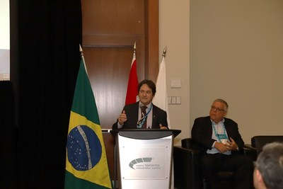Alexandre Vidigal de Oliveira, the Secretariat of Geology, Mining and Mineral Transformation of the Ministry of Mines and Energy (CNW Group/Brazilian Mining Association (IBRAM))