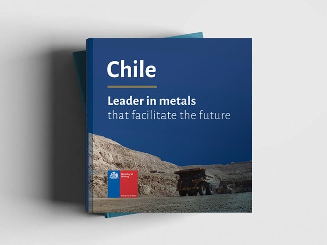 The Chilean government has launched the book 'Chile: Leader in metals that facilitate the future,' setting out details of 40 mining projects whose implementation would contribute to the country economically and in terms of sustainability.