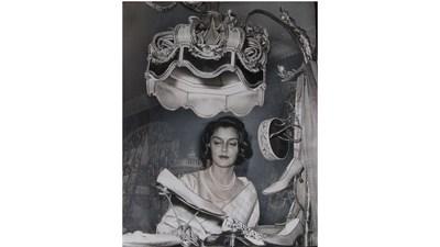 A rare photo of Maharani Gayatri Devi during a visit to London in 1962
