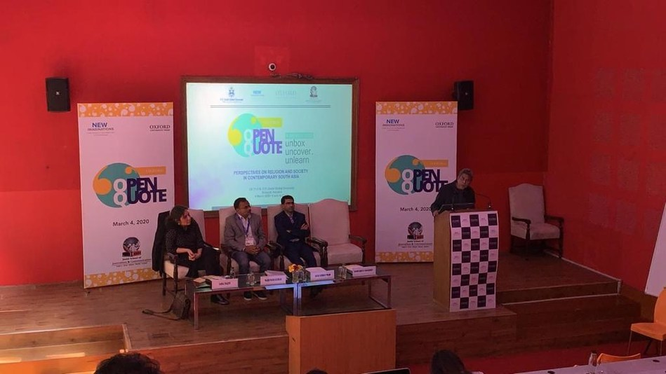 Oxford's Open Quote 2020 at O.P. Jindal University, Sonipat