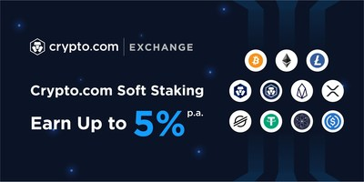 Crypto.com Exchange Users Earn Up to 5% on Idle Fund Balances of 11 Coins.