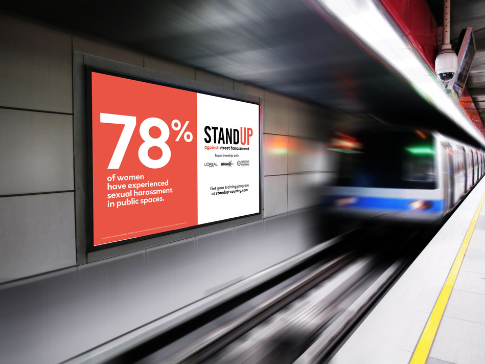 Stand Up Campaign (PRNewsfoto/L'Oreal Paris)