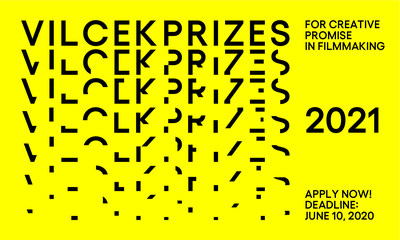 Apply now for a 2021 Vilcek Prize for Creative Promise in Filmmaking. The deadline for applications is June 10, 2020. (PRNewsfoto/The Vilcek Foundation)
