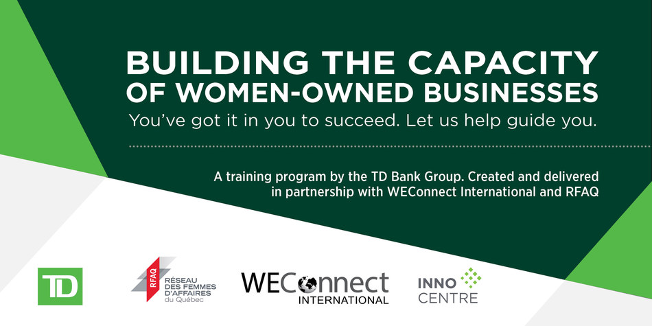 Launch of an exclusive program aimed at assisting women business owners. (CNW Group/WEConnect International)