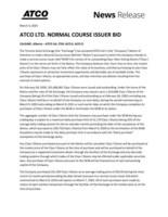 ATCO Ltd. News Release - 2020 Normal Course Issuer Bid (CNW Group/ATCO Ltd.)