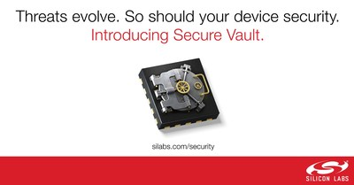 Silicon Labs' new Secure Vault IoT security technology protects connected products, data and intellectual property against evolving threats.