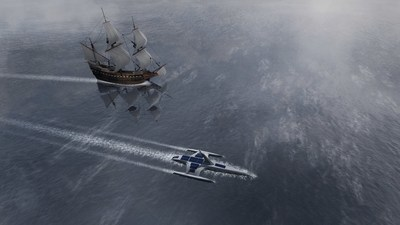 The Mayflower Autonomous Ship, from marine research organization Promare, with support from IBM (rendering)