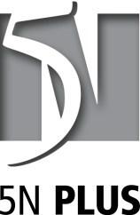 Logo: 5N Plus Inc. (CNW Group/5N Plus Inc.)