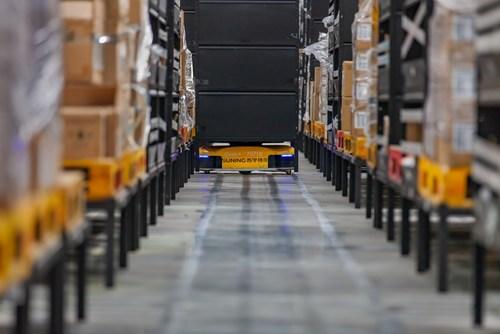 Suning Unmanned Logistics Warehouse