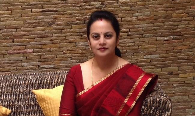 Indian author and Yantra expert Vinita Rashinkar