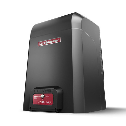Put through a series of rigorous tests, LiftMaster's heavy-duty, high-cycle commercial slide gate operators outperform every competitor in its class.