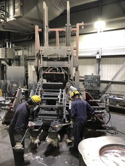 CIF Metal installations at its plant in Thetford Mines, Québec. (CNW Group/CIF Métal)