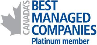 Canada's Best Managed Companies Platinum Member (CNW Group/Spartan Controls Ltd)