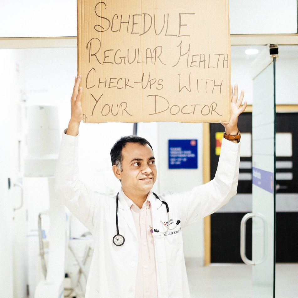 Schedule regular health check-ups with your doctor