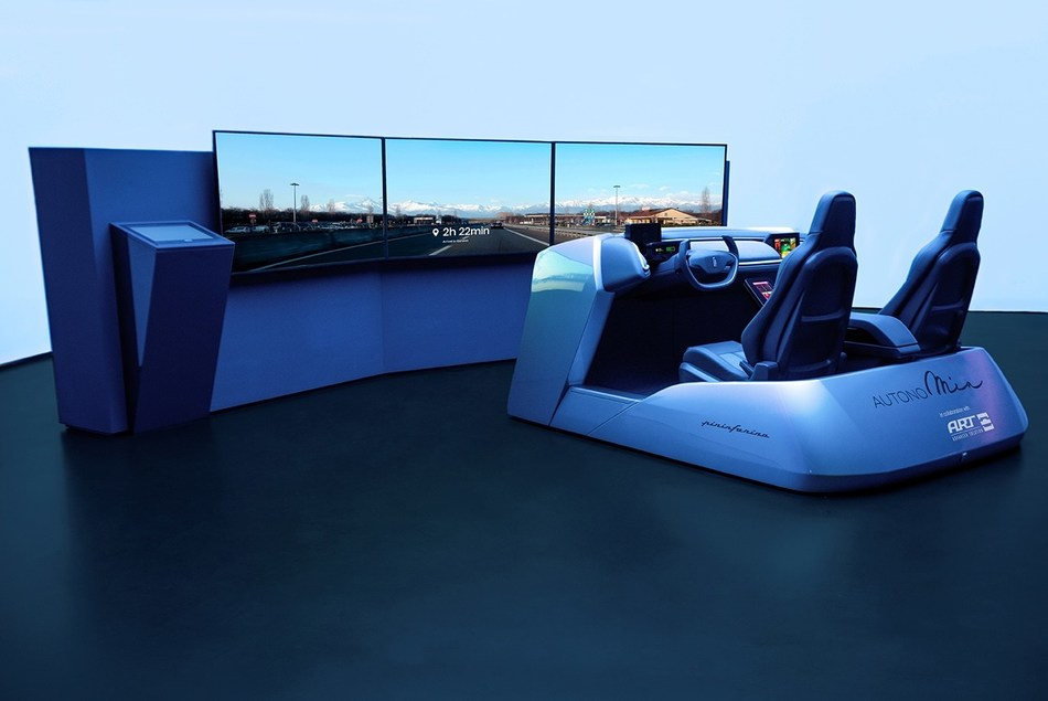 Pininfarina's responsive User Experience for the mobility of the future. (PRNewsfoto/Pininfarina)