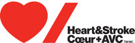 Logo: Heart & Stroke (CNW Group/Heart and Stroke Foundation)