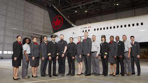 In selecting Air Canada, Mediacorp Canada Inc. cited the airline's continuing work to foster inclusiveness through numerous partnerships, its success outreaching directly to diverse communities when recruiting and other initiatives. (CNW Group/Air Canada)