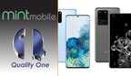 Quality One Wireless Once Again Partnering with Mint Mobile, this Time as their Exclusive Fulfillment Provider for the Samsung Galaxy S20 Series
