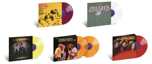 On May 8, Capitol/UMe is set to release five remastered LPs from the storied catalog of the Bee Gees, one of music's most legendary and acclaimed groups. The five LPs are, in chronological order, 1969's 'Best Of Bee Gees,' 1975's 'Main Course,' 1976's 'Children Of The World,' 1977's double live album 'Here At Last…Bee Gees…Live,' and 1979's 'Spirits Having Flown.' All five albums have been remastered from the original analog LP master tapes at the iconic Capitol Studios.