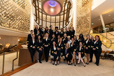 History-making and barrier-breaking on board Celebrity Edge: For the first time in history, an all-female bridge and leadership team set sail to commemorate International Women's Day on March 8, 2020.