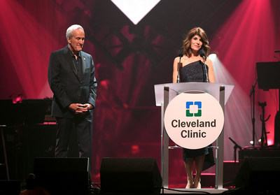 Larry and Camille Ruvo at Keep Memory Alive's 24th annual Power of Love gala