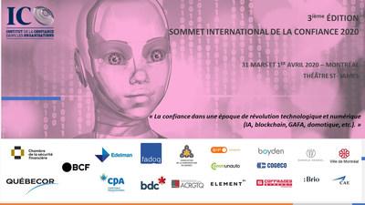 3ème édition du Sommet International de la Confiance 2020 (SIC) (Groupe CNW/Institut de la confiance dans les organisations)