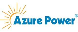Logo: Azure Power (CNW Group/Caisse de dépôt et placement du Québec)