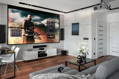 The Optoma UHD50X 4K UHD home theater projector